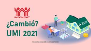 Factor descuento INFONAVIT - UMI 2021