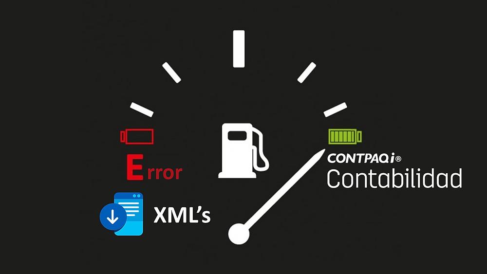 xml gasolinera contabilidad