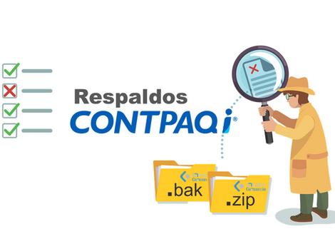 Generar respaldos .bak y .zip en CONTPAQi