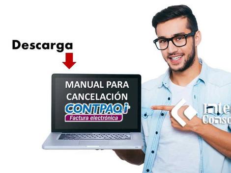 Cancelación CFDI en CONTPAQi Factura Electronica
