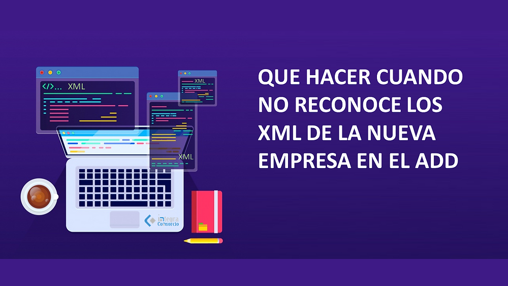 erro no reconoce los XML