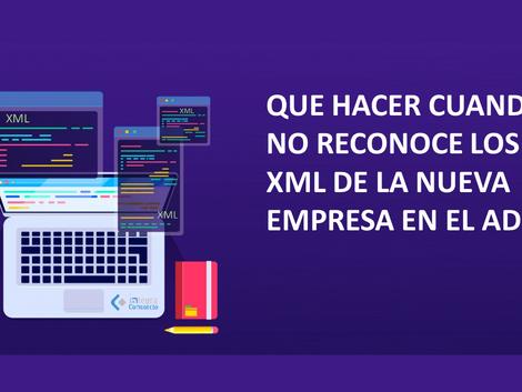 SOLUCIÓN: NO RECONOCE EL NOMBRE DEL ADD PARA DESCARGAR XML.