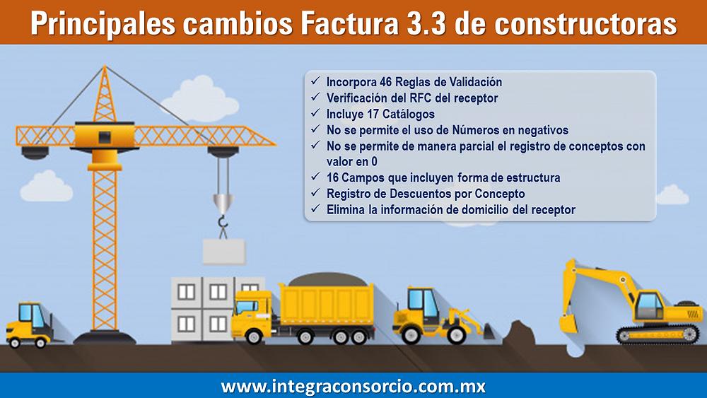 factura constructora y obra civil en contpaqi