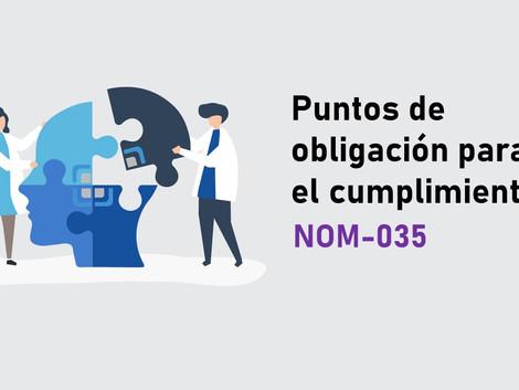 Puntos finos de la NOM-035-STPS-2018