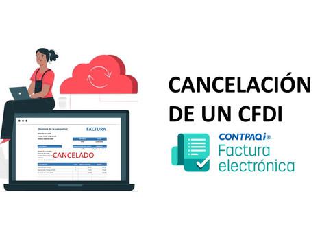 ¿Sabes , como cancelar un CFDI en CONTPAQi?