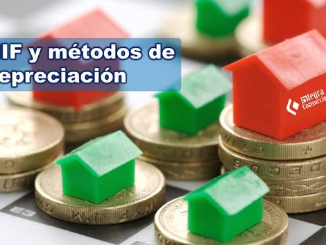 Principales métodos de depreciación para los estados financieros de acuerdo a (NIF)