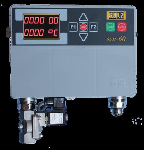 Water meter of kneader