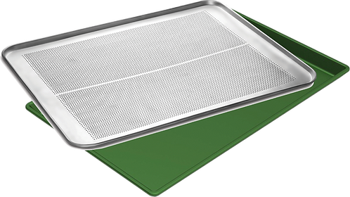 FLAT AND PERFORATED TRAY
