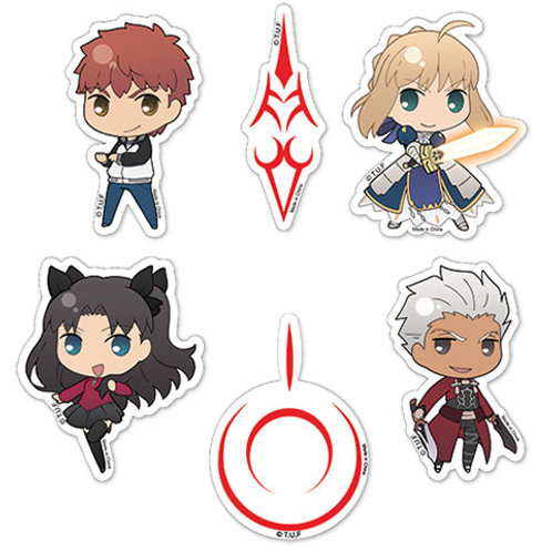 Fate/Stay Night Unlimited Blade Works - Sticker Set