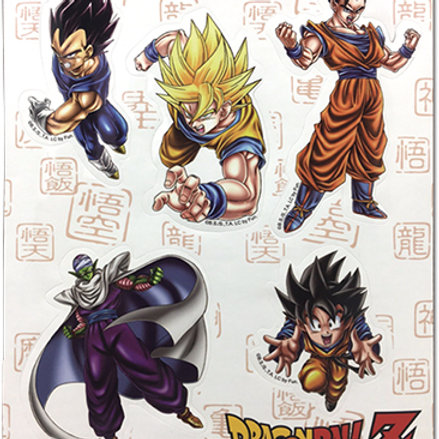 Dragon Ball Z - Special Art Sticker Set