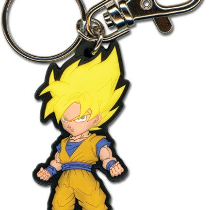 Dragon Ball Z - Super Saiyan Goku Keychain