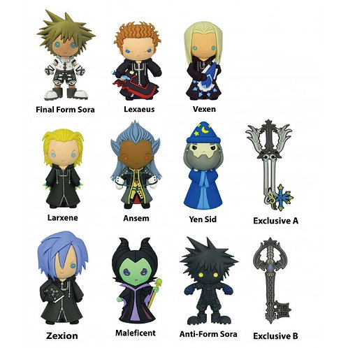 Kingdom Hearts Keychain Mystery Bag Series 2