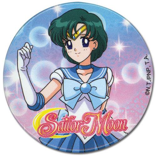 Sailor Moon Button - Sailor Mercury