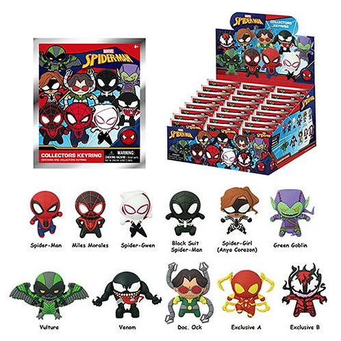 Spider-Man Classic Keychain Mystery Bag