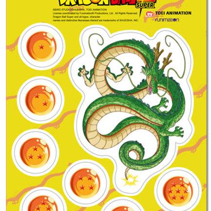 Dragon Ball Super -Dragon Balls and Shenron