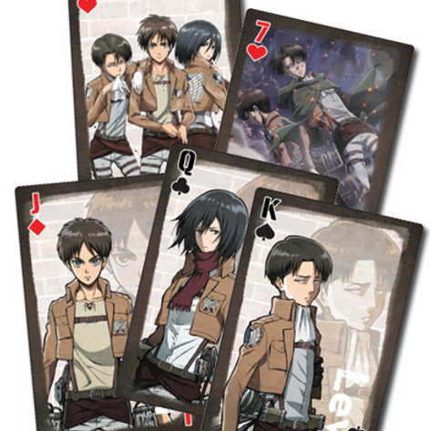 Attack on Titan - Playing Cards Style 2