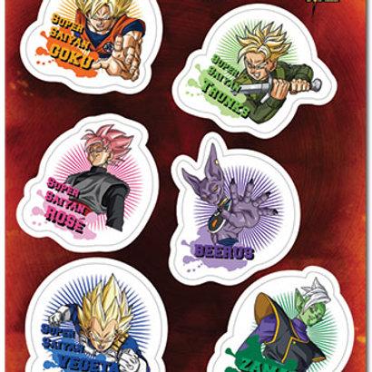 Dragon Ball Super - Future Trunks Saga Sticker Set