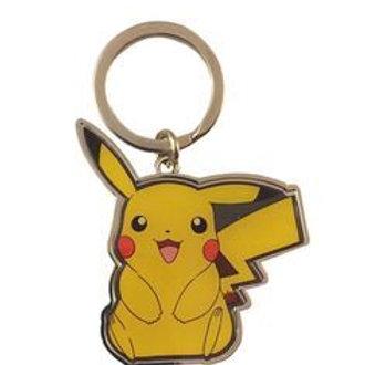 Pokemon - Metal Pikachu Keychain