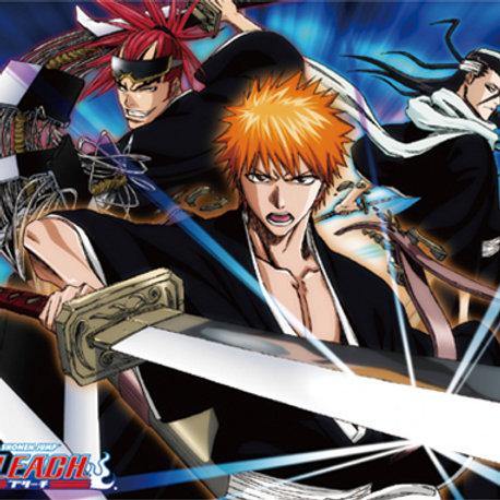 Bleach - Ichigo, Byakuya, and Renji Throw Blanket