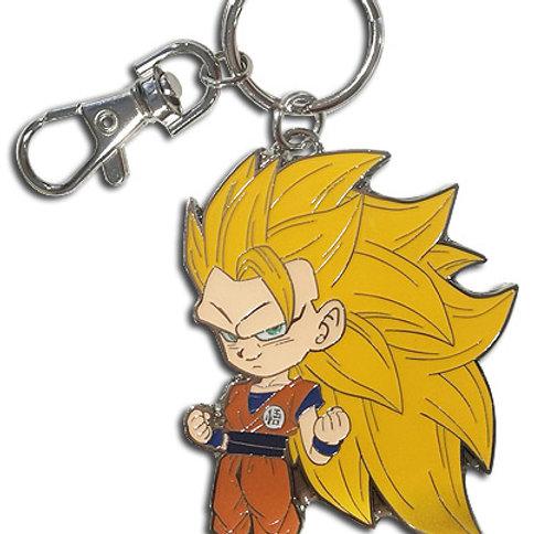 Dragon Ball Z - Super Saiyan 3 Goku Metal Keychain