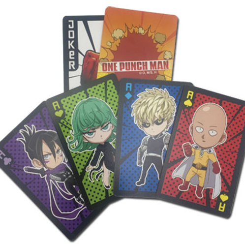 One Punch Man - Playing Cards