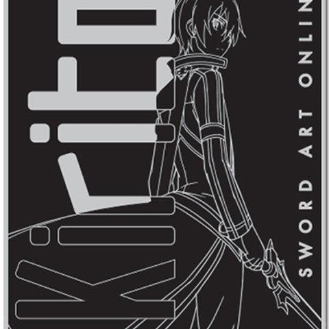 Sword Art Online -Kirito Blanket
