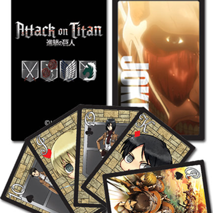 Attack on Titan - Playing Cards Style 1
