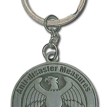 One Punch Man - Hero's Association Medal Keychain