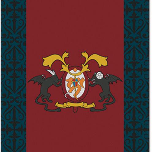 Blue Exorcist - Academy Emblem Blanket