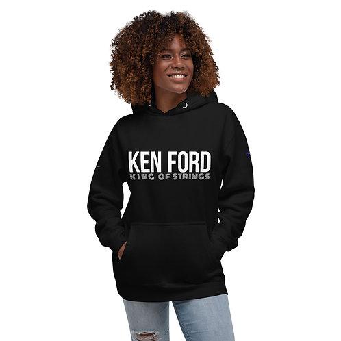 """Ken Ford """"King Of Strings"""" Unisex Hoodie"""