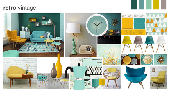 Home design moodboards
