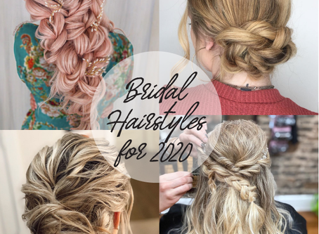 Our Favorite Bridal Hairstyles for 2020