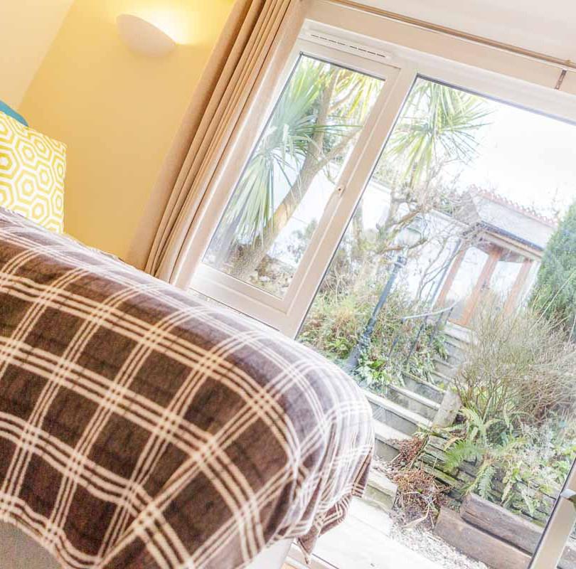 Blackberry bedroom view