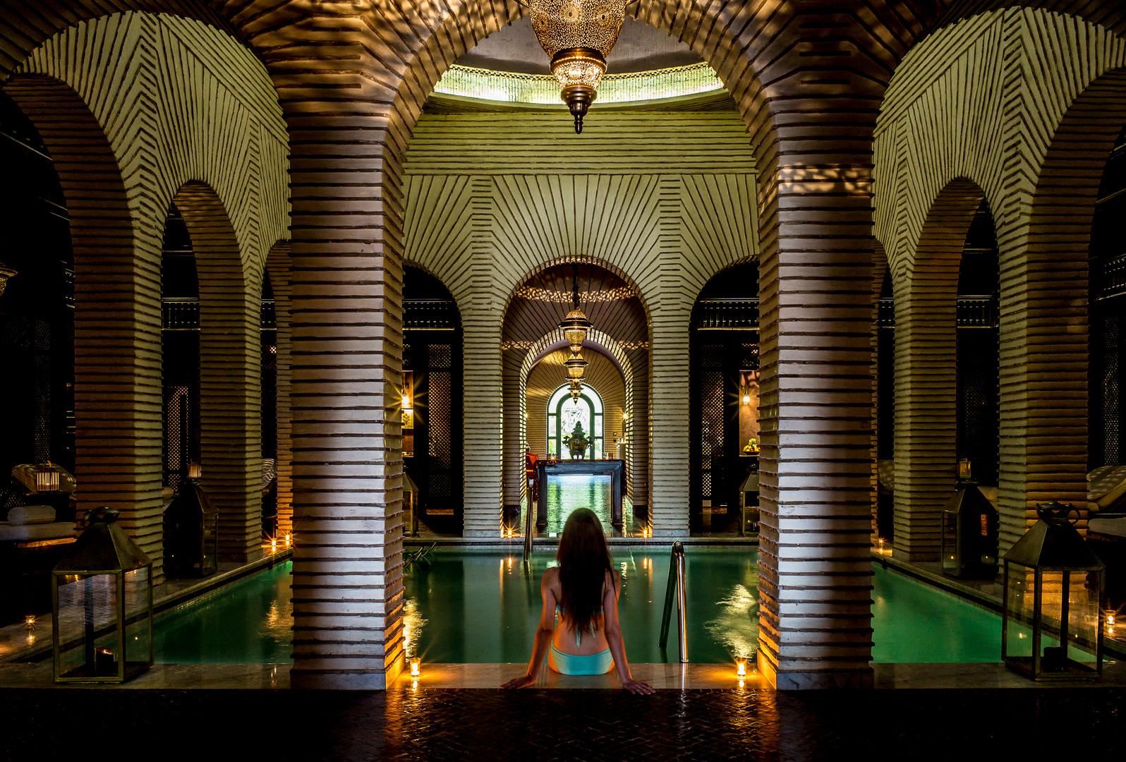 Spa- indoor pool