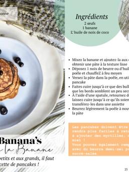 2 Ingredient Banana Pancake