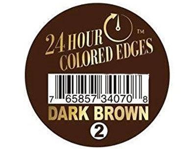 24Hr Colored Edges (2 Dark Brown)