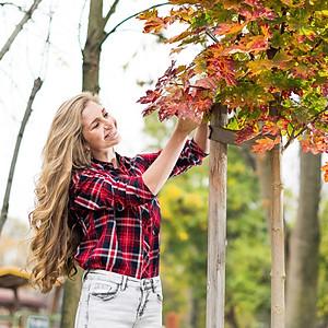Анжи и есента