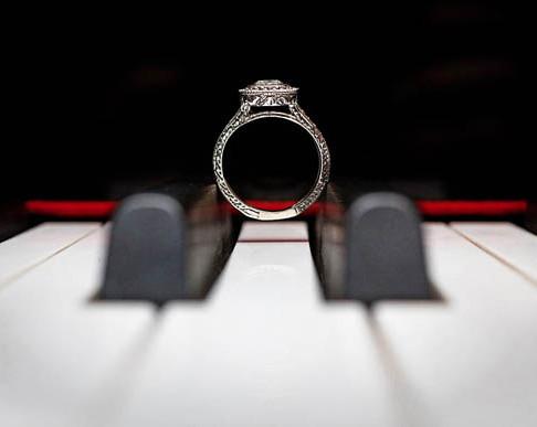 Снимки на сватбени пръстени с много вкус