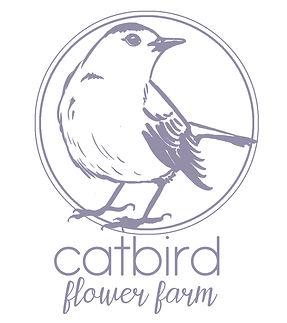 catbird flower farm logo design 1aaabb.j
