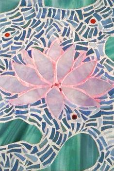 Tableau en mosaïque 30 cm X 30 cm _Le lo