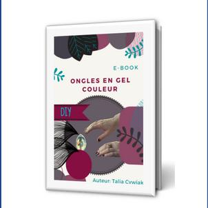 E-book: Ongles en gel couleur