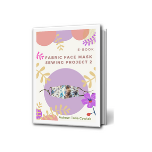 E-book Fabric Face Mask Sewing Project 2
