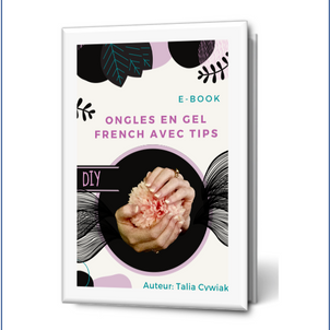 E-book: Ongles en gel French tips