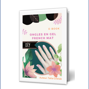 E-book: Ongles en gel French mat