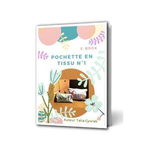 E-book: Pochette tissu