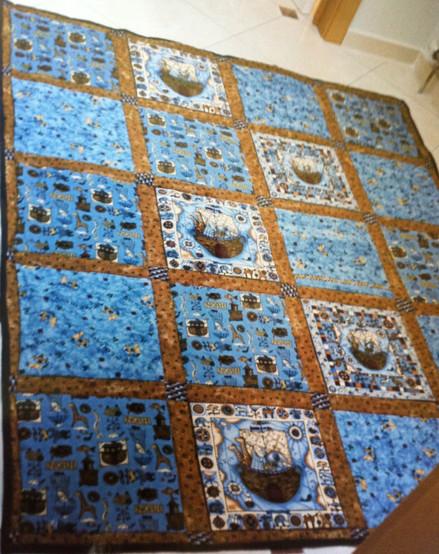 Couvre-lit patchwork