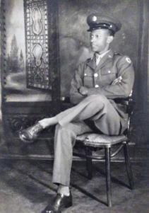 Pvt John Watkins, WWII Army Veteran 1994