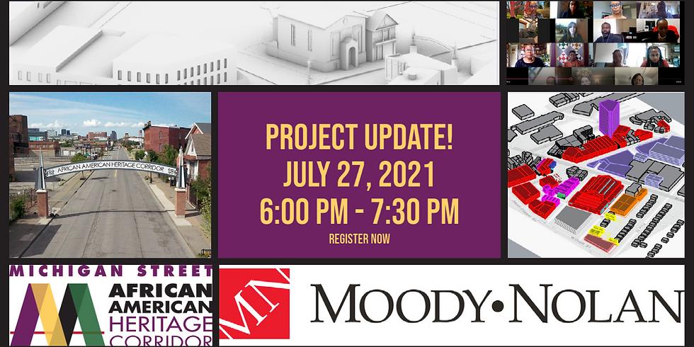 Public Meeting for Michigan Street Strategic Plan