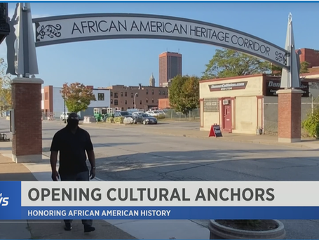 Spectrum News: 3 Anchors at Michigan Street African American Corridor Reopen!