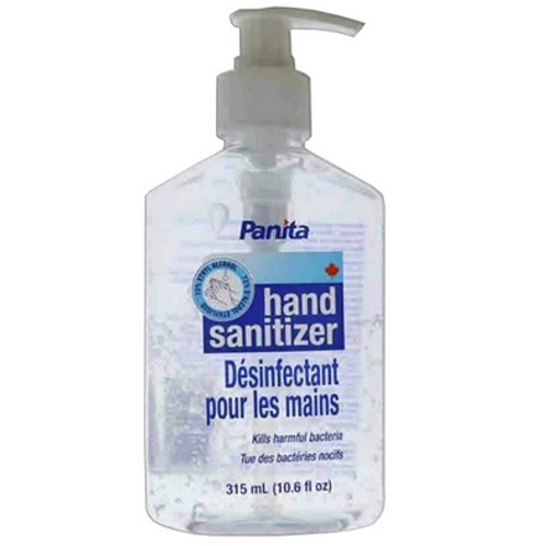 Panita Gel Hand Sanitizer 315ml X 48 units / case